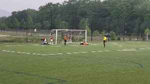 Goalie Comes Back to Save the Day [Video]