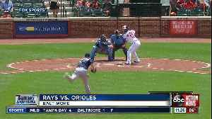 Perfect for 8 innings, Tampa Bay Rays settle for 4-1 win over Baltimore Orioles [Video]