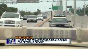 'Operation Southern Shield' begins Monday in effort to crack down on speeders, save lives [Video]