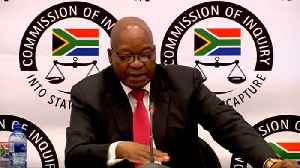 S.Africa's Zuma denies breaking law at corruption inquiry [Video]