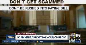 Are scammers targeting your church? [Video]