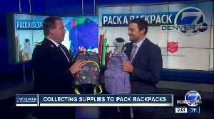 Help kids get ready for school with the Denver7 'Pack A Backpack' school supply drive [Video]