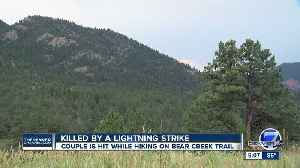 Denver man hiking on Bear Peak dies after being struck by lightning; wife injured [Video]