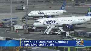 'All Clear' Given To DR-Bound JetBlue Flight [Video]
