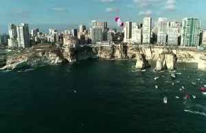 Hunt scores perfect 10s as he and Iffland claim wins at Red Bull Cliff Diving Beirut stop [Video]