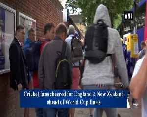 Enthusiastic cricket fans reach stadium for final match [Video]