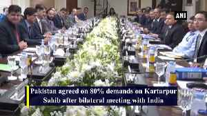Pakistan agrees on 80percent demands [Video]