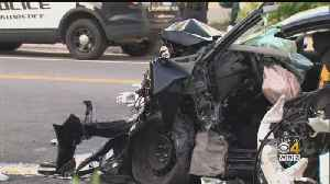 8-Year-Old Girl Killed In Crash Moments After Driver Speeds Away From Traffic Stop [Video]