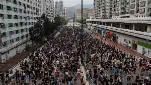 Thousands back on Hong Kong streets to keep up pressure [Video]