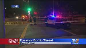 Bomb Squad, Large Police Presence Called For Suspicious Package At Islamic Center [Video]