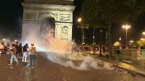 Algerian football fans cause chaos on the streets of France [Video]