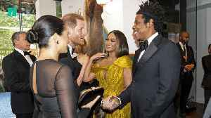 When Meghan And Harry Met Beyonce And Jay Z [Video]