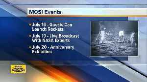 MOSI celebrating moon landing anniversary with special events [Video]