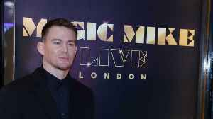 News video: Channing Tatum is in therapy