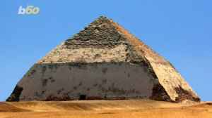 News video: Walk Like an Egyptian… to the 'Bent' Pyramid, Now Open For Business