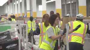News video: Amazon Workers Push For Higher Wages On 'Prime Day'