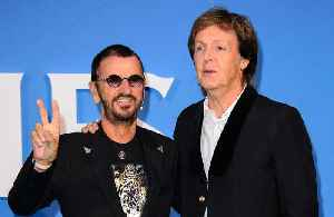News video: Paul McCartney and Ringo Starr host mini Beatles reunion