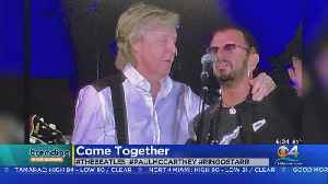 Trending: Paul McCartney, Ringo Starr Reunite On Stage [Video]