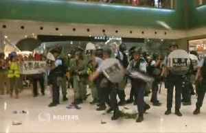 News video: Hong Kong leader calls protesters