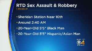 Lakewood Police Search For Robbery, Sexual Assault Suspects [Video]