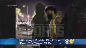 News video: Attorneys: Ezekiel Elliott 'Has Been The Target Of Extortion' Since Las Vegas Incident
