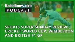 Sports Super Sunday review: Cricket World Cup, Wimbledon and British F1 GP [Video]