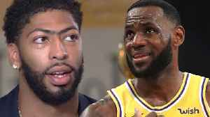 News video: Nike STOPS LeBron James From Gifting Anthony Davis #23!