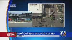 Several Hurt After Casino Roof Collapses In Gardena [Video]