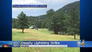 Denver Man Is Colorado's 1st Lightning Death This Year [Video]