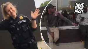 News video: Police apologize after white officer caught using the n-word