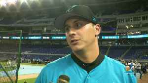 WEB EXTRA: CBS4 Sports Desk Craig Mish One-On-One Interview With Marlins Draft Pick JJ Bleday [Video]