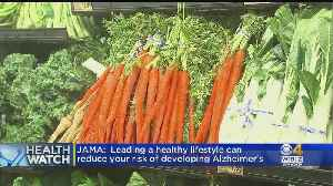 News video: HealthWatch: Healthy Lifestyle Could Reduce Alzheimer's Risk; Studying Premature Babies Later In Life