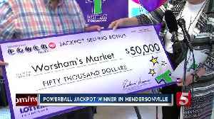Powerball jackpot winner named in Hendersonville [Video]