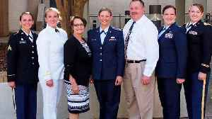 Five Utah Sisters Serving in Different Branches of The Military [Video]