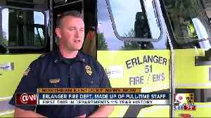 Erlanger fire department made up of full-time staff for the first time [Video]