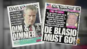 NYC Blackout: Mayor Bill De Blasio Taking Heat For Power Outage Absence [Video]
