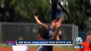 Abe Elam joins Honda Five Sports Live 7/14 [Video]