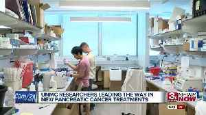 UNMC researchers leading the way in new pancreatic cancer treatment [Video]