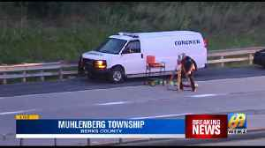 Fatal crash closes Route 12 east in Muhlenberg [Video]