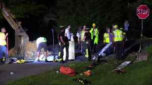 Fire crews rescue dog from storm drain in Lower Saucon [Video]
