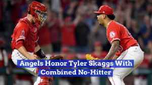 The Angels Pay Their Respects To Tyler Skaggs [Video]