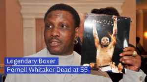 Boxer Pernell Whitaker Has Died [Video]