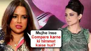 After Kangana Ranaut, Sameera Reddy INSULTS A Media Reporter For Her Weight Loss [Video]