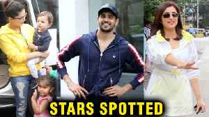 Parineeti Chopra Spotted, Sunny Leone With Her Cute 3 Kids, Sidharth, Taapsee | Stars Spotted [Video]