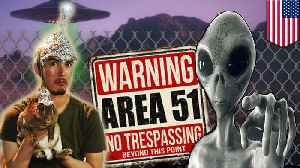 Storm Area 51: US Air Force warns alien hunters [Video]
