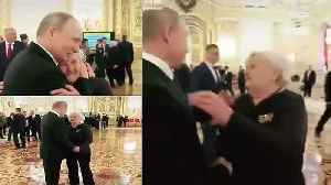 Putin hugs teacher, spends time with her despite busy schedule [Video]