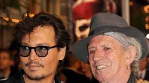 Johnny Depp and Keith Richards stun diners with Indian restaurant visit [Video]