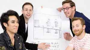 How to Write a New Yorker Cartoon Caption: The Try Guys Edition [Video]
