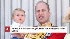 A Tennis Master Presents Prince Louis With A Gift [Video]