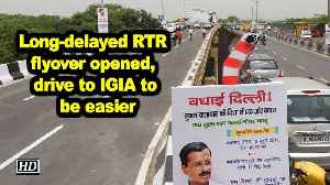 Long-delayed RTR flyover opened, drive to IGIA to be easier [Video]